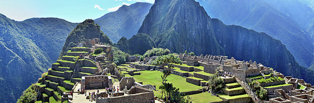 Machu Picchu - sacred town of an Inca empire by Aleksandr Volkov