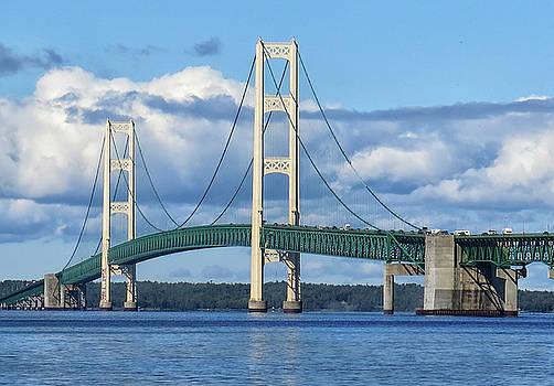 Mackinac Bridge by Dave Mills