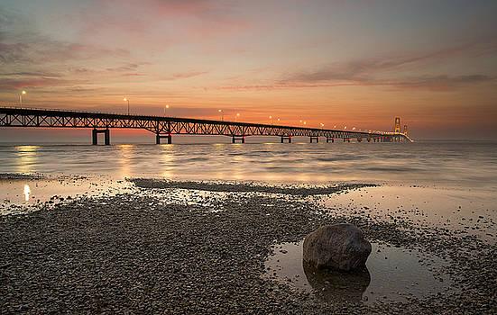 Mackinac Bridge by Derek Thornton