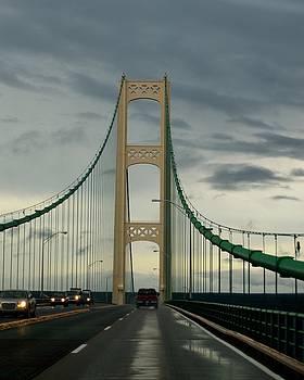 Mackinaw Bridge by Sue Houston