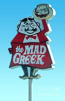 Gregory Dyer - Mad Greek - Vintage Sign