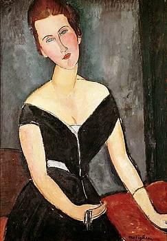 Amedeo Modigliani - Madame G van Muyden