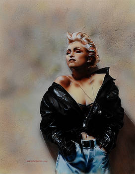 Madonna 1 by Tim  Scoggins