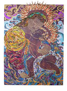 Madonna and Child The Sacred and Profane by Apanaki Temitayo M