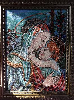 Madonna with the Child by Elena Soldatkina