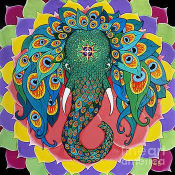 Magic Elephant by Galina Bachmanova