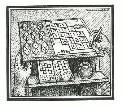 Magic Squares Dice by Bill Perkins