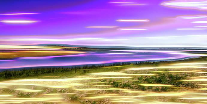 Magic Swirls Of Lake Wollumboula by Miroslava Jurcik