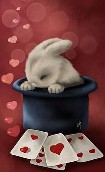 Magical bunny by Veronica Minozzi