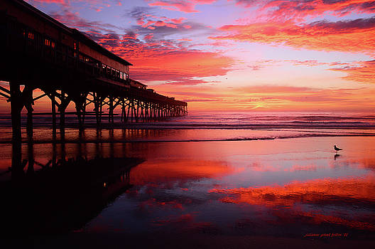 Magical Dawn at the Pier 8-14-16 by Julianne Felton