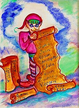 Magical Elf by Helena Bebirian