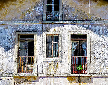 Magical Light on Sintra Windows by Marion McCristall