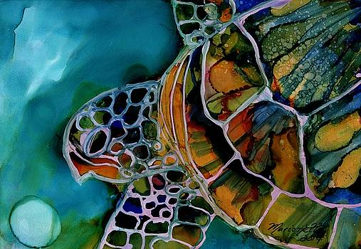 Magical Turtle 3 by Marionette Taboniar