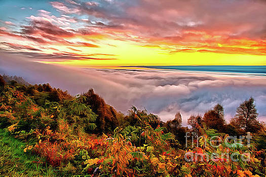 Dan Carmichael - Magnificent Autumn Blue Ridge Sunrise AP