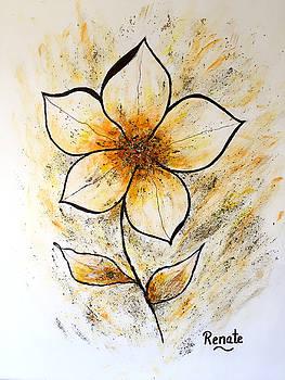 Magnolia Art-flower by Renate Dartois
