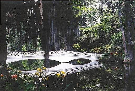 Magnolia Gardens Bridge-horizontal by Kelly Luquer