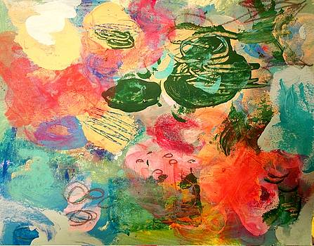 Mai Tai On The Beach by Kate Delancel Schultz