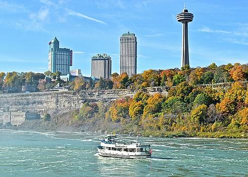 Frozen in Time Fine Art Photography - Maid of The Mist at the Falls