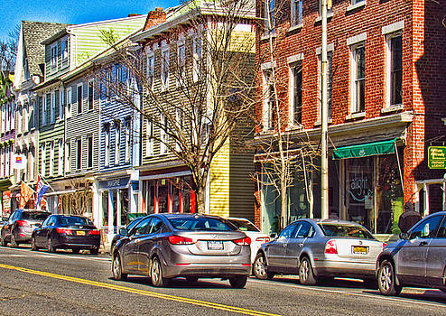 Main Street in Catskill NY by Nancy de Flon