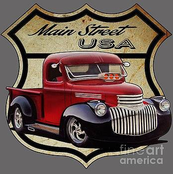 Main Street, USA Pickup by Paul Kuras