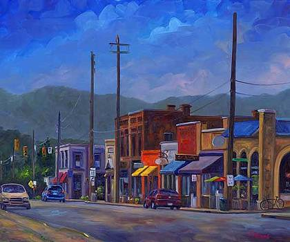 Main Street Weaverville by Jeff Pittman