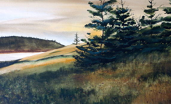 Maine Sunrise by Karol Wyckoff