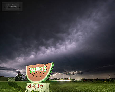 Mairet's Watermelon Lightning 2 by Paul Brooks