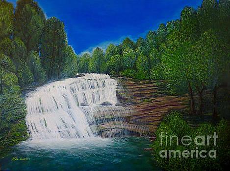 Majestic Bald River Falls of Appalachia II by Kimberlee Baxter