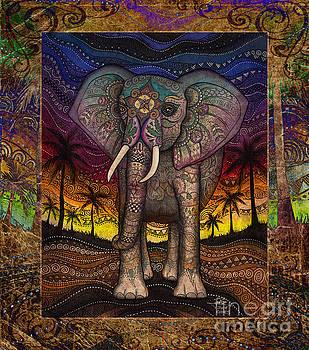 Majestic Elephant by Julie Oakes