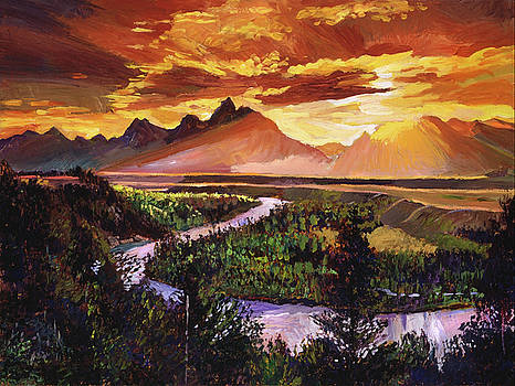 Majestic Morning by David Lloyd Glover