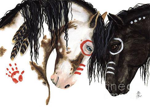 Majestic Spirit Horses by AmyLyn Bihrle