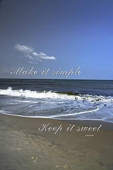 Make It Simple by Judy Hall-Folde