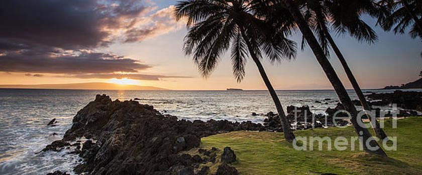 Makena Sunset Maui Hawaii by Dustin K Ryan