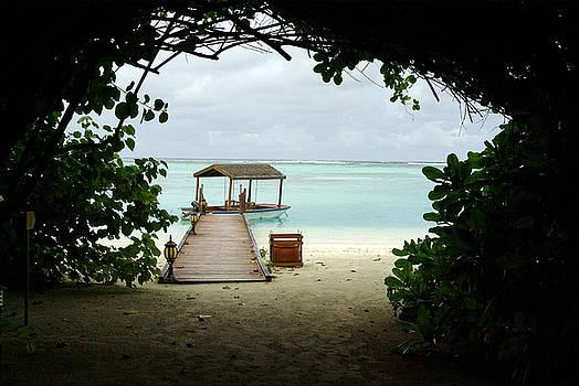 Maldives Boat by Pixie Copley
