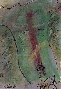 Male Nude Torso 1 by Wayne Potrafka