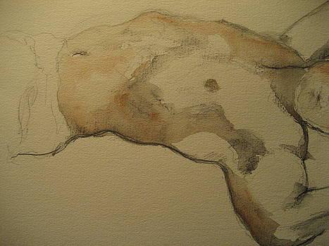 Male torso by Victoria Heryet