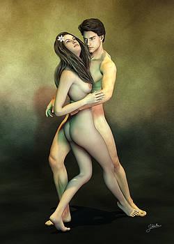 Malena. Nude Tango by Joaquin Abella