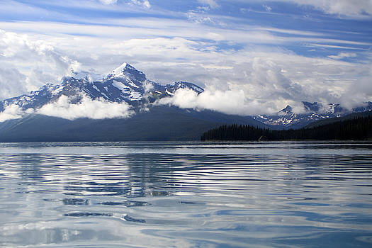 Maligne Lake by Kathy Stanczak