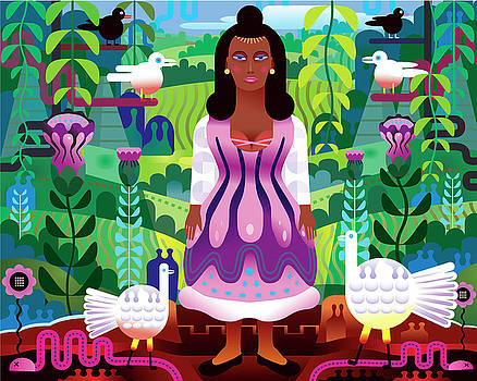 Malinche by Charles Harker