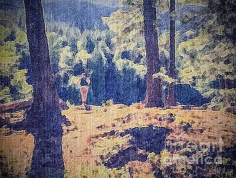 Man in the Woods by William Wyckoff