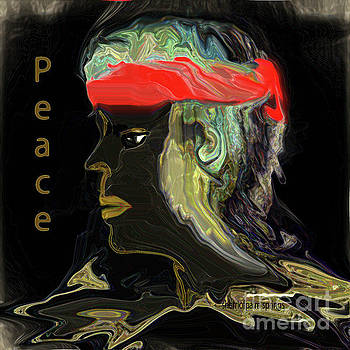 Man Of Peace by Sherri Of Palm Springs