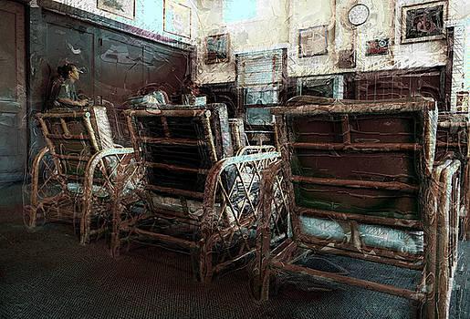 Manago Hotel Lounge by Lori Seaman