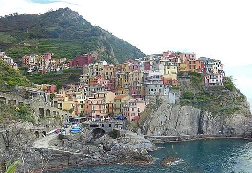 Manarola Cinque Terre II by Marilyn Dunlap