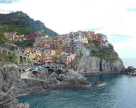 Manarola Cinque Terre 4 by Marilyn Dunlap