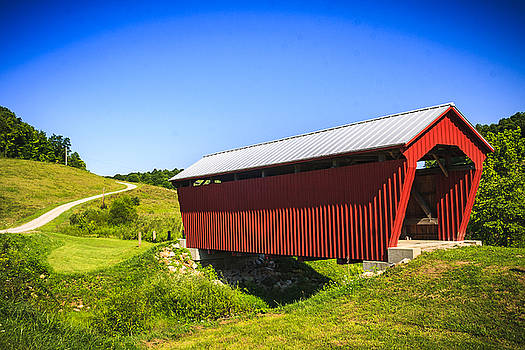 Jack R Perry - Manchester  Covered Bridge