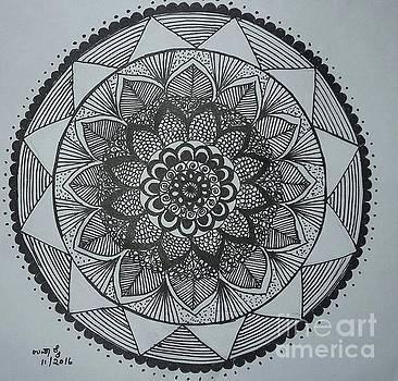 Mandal by Usha Rai