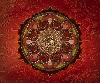 Bedros Awak - Mandala Flames sp