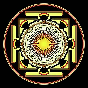 Mandala Meditation by Mario Carini