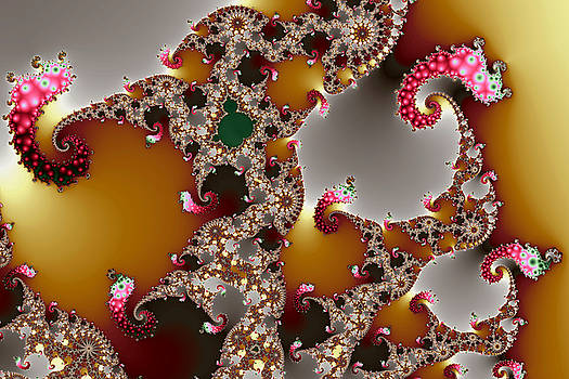 Mandelbrot and Spotty Slugs by Mark Eggleston