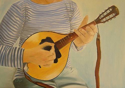 Mandolin by Beata Rosslerova